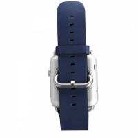 Ремешок для Apple Watch REMAX 38mm (Синий) (Кожа)