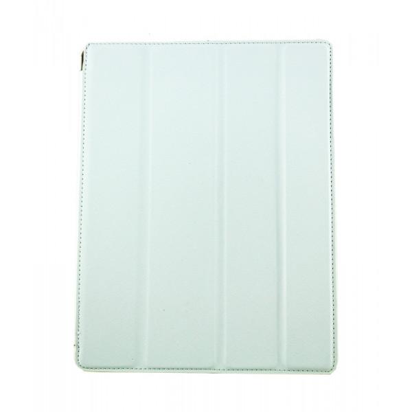Чехол Книжка для IPad 2/3/4 BELK Cpricorn (Белый) (Преcсованая кожа)