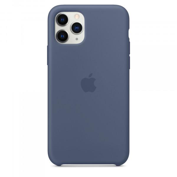 Чехол Накладка для iPhone 11 Pro Apple Silicon Case (Alaska Blue) (Полиулетан)