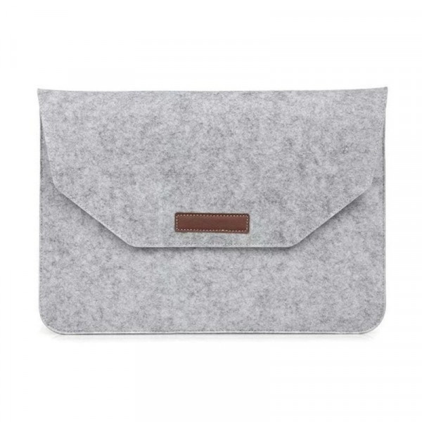 "Сумка для MacBook 15"" Felt Sleeve Bag (Gray)"