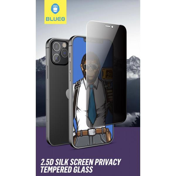 Защитное стекло iPhone 12/12 Pro Blueo 2.5D No Silk Narrow Border Tempered Glass Privacy