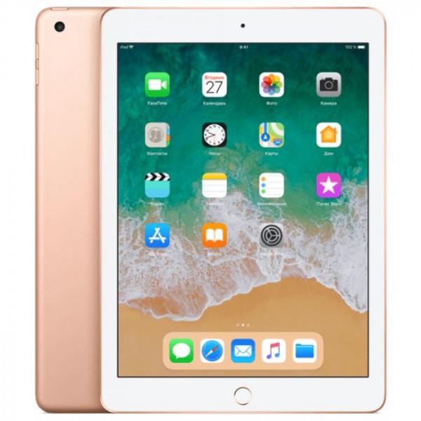 Apple iPad 2018 128GB Wi-Fi + Cellular Gold (MRM22)