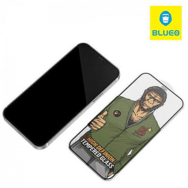 Защитное стекло iPhone 12/12 Pro Blueo 2.5D Silk Narrow Border Tempered Glass HD