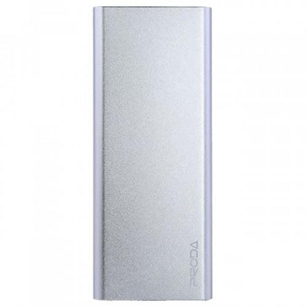 Портативное зарядное устройство PRODA POWER BANK Vanguard PP-V12 (SLIMS) (12000mAh) (Серебристый)