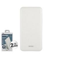 Портативное зарядное устройство Power Bank WK 10000mAh WP-031 (white)