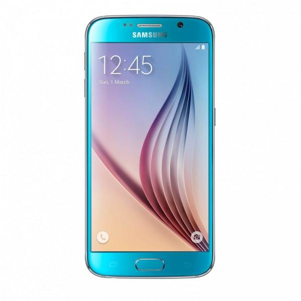 Samsung G920F Galaxy S6 128GB (Blue Topaz)