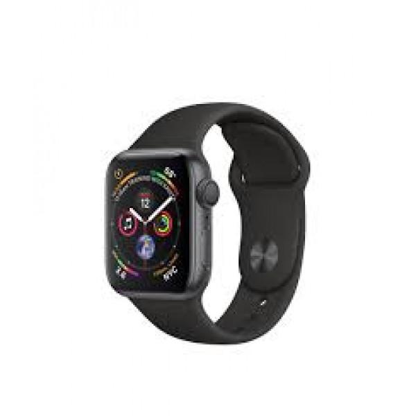 Apple Watch Series 4 GPS 40mm Gray Alum. w. Black Sport b. Gray Alum. (MU662)