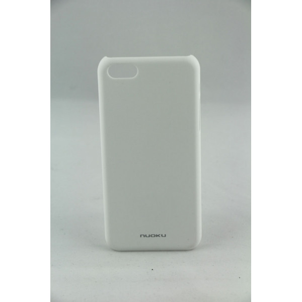 Чехол Накладка для iPhone 5C NUOKU FRESH (Белый) (Пластик)