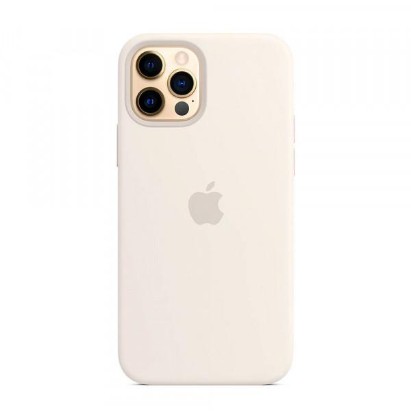 Чехол iPhone 12 Pro Max Apple Silicone Case (White)