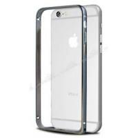 Бампер для iPhone 6 COTEetCL D (Серый) (Алюминий)