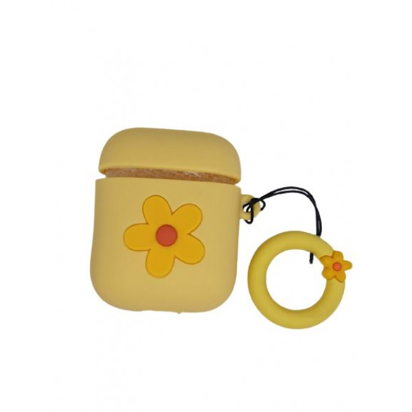 Чехол для AirPods Flower Case (Yellow)