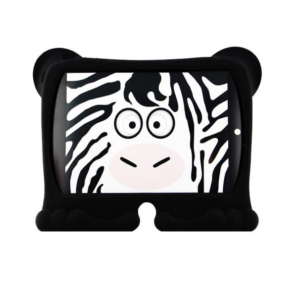 Чехол Накладка для iPad Air  GRIFFIN KAZOO(Черный) (Силикон)
