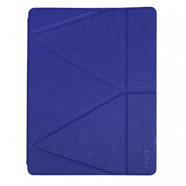Чехол для iPad Pro 12.9 (2020) Origami Case Leather Embossing (blue)
