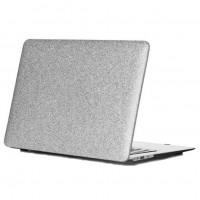 Чехол накладка MacBook Pro 13 (2019) DDC Picture Glitter (silver)