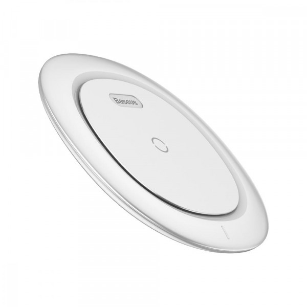 Беспроводное зарядное устройство Baseus UFO Desktop Wireless Charger (White)