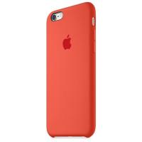 Чехол Накладка для iPhone 6 Plus Apple Silicone Case Original (Orange ) (Силикон)