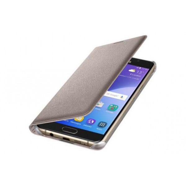 Чехол книжка Original для Samsung S7 Gold