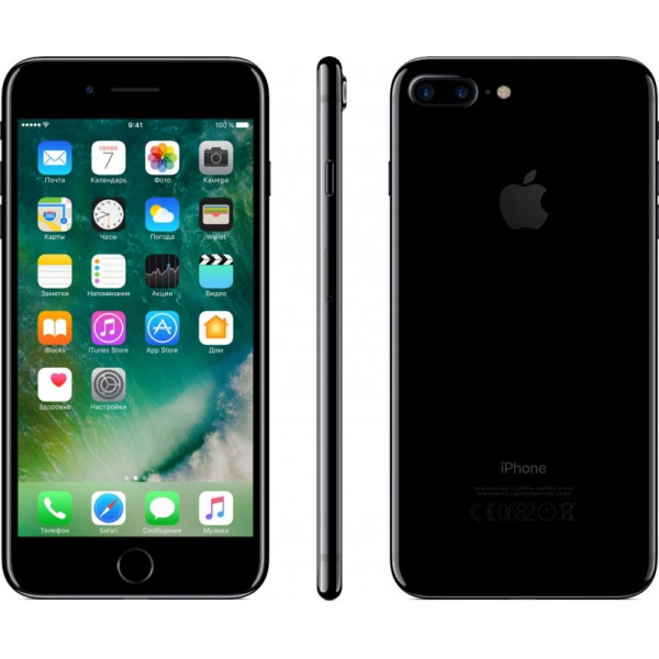 Apple iPhone 7 Plus 128GB (Jet Black) (MN4V2)