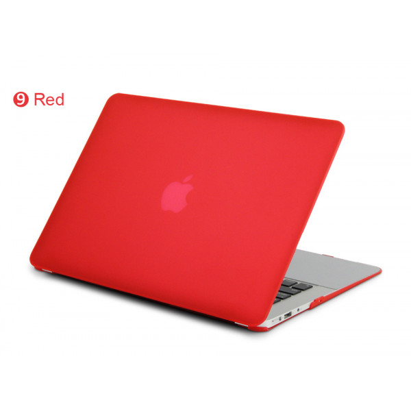 Чехол накладка MacBook Pro 13 Retina DDC Case (Матовый/Красный) (Пластик)