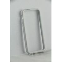 Бампер для iPhone 5/5S SGP Neo Hybrid EX (Белый) (Пластик)