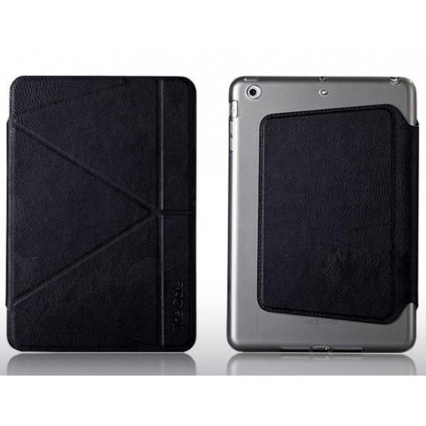 Чехол Книжка для iPad mini 4 I-MAX Smart Case (Красный) (Пресованая кожа)