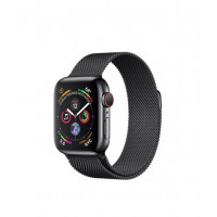 Apple Watch Series 4 GPS + LTE 40mm Black Steel w. Black Milanese l. Black Steel (MTVM2)