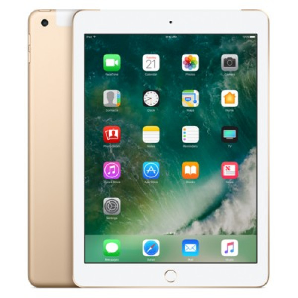 Apple iPad Wi-Fi + Cellular 128GB Gold (MPGC2)