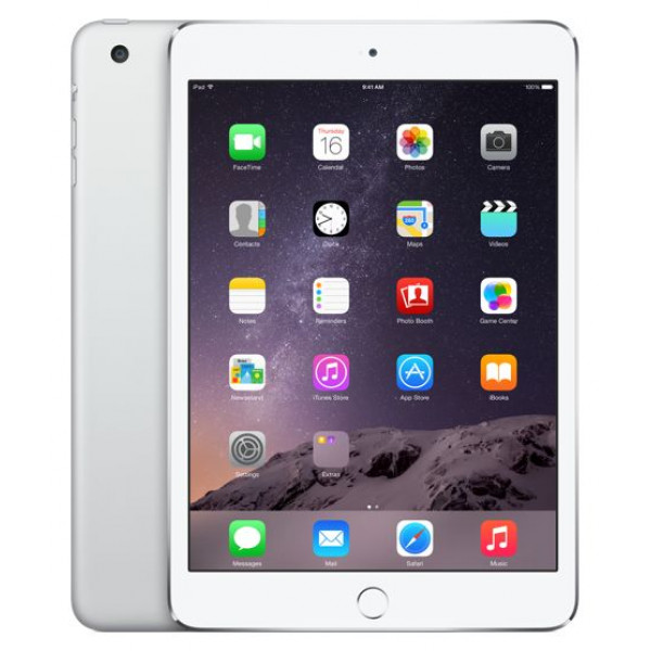 Apple iPad mini 3 Wi-Fi + LTE 64GB Silver (MH382)