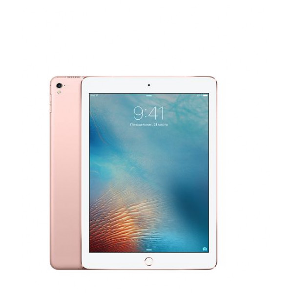 Apple iPad Pro 9.7 Wi-FI + Cellular 256GB Rose Gold (MLYM2)