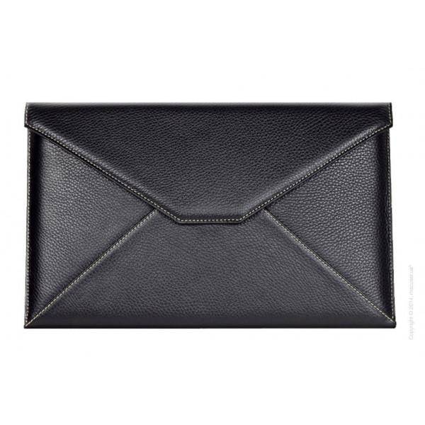 Чехол-конверт MacBook 11 Dublon Genesis (Черный) (Кожа)