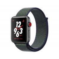 Apple Watch Nike+ Series 3 GPS + Cellular 42mm Space Gray Aluminum with Mignight Fog Nike Sport Loop (MQMK2)