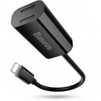 Переходник Baseus L36 Double  Lightning Apple/black/