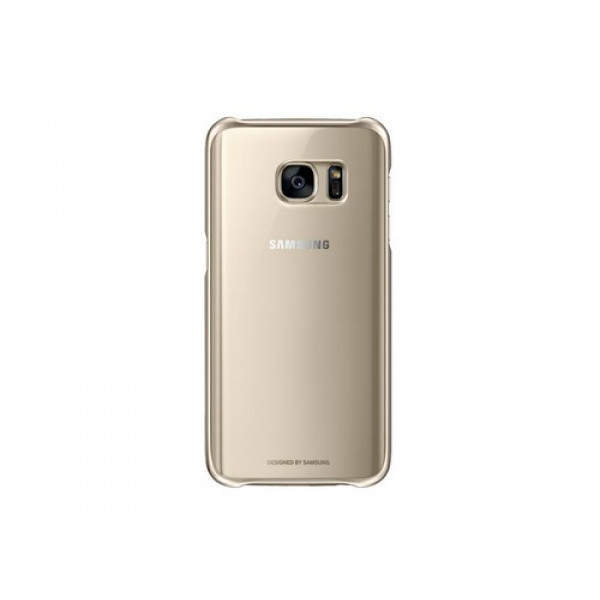 Чехол накладка G-case Silicone  for Samsung S7 Прозрачный)