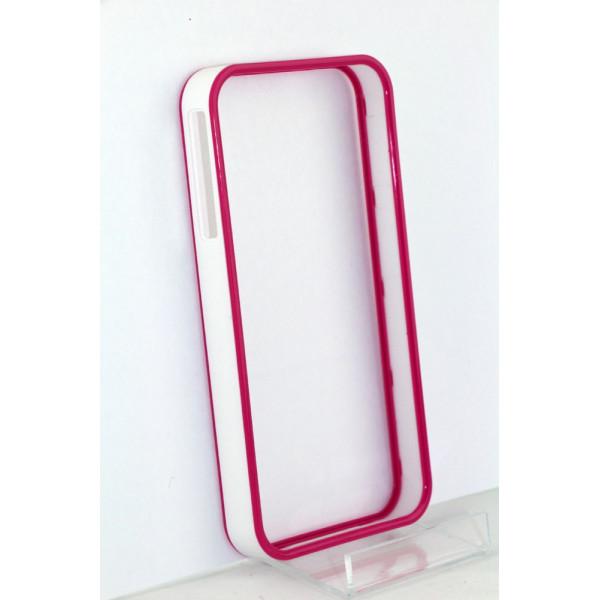 Бампер для iPhone 4/4S Perfektum (Розовый) (Пластик)
