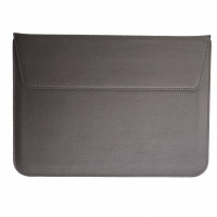 Чехол-конверт MacBook 15 PU seleeve bag (coffee)