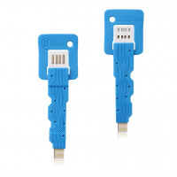 Кабель USB BASEUS Keys Series Lightning  (blue)
