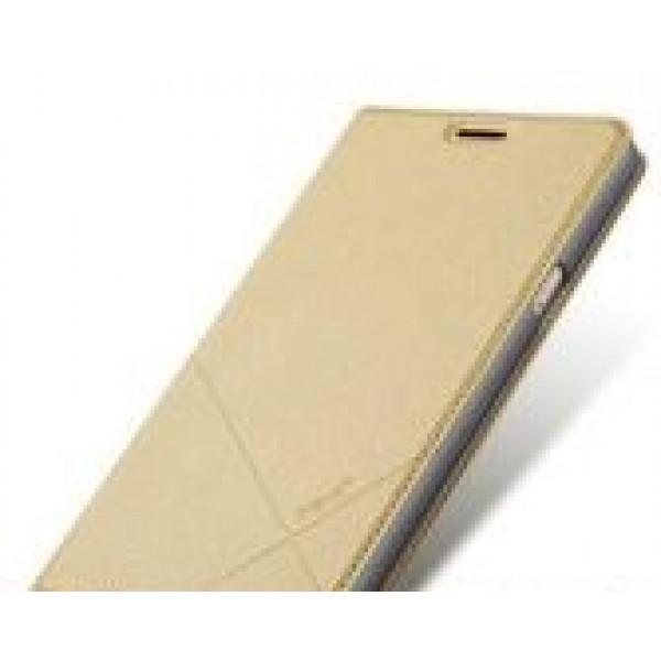 Чехол  книжка iMax для Samsung S7 Edge Gold