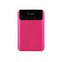 Портативное зарядное устройство CAGER SMART POWER BANK (7200mAh) (Розовый)