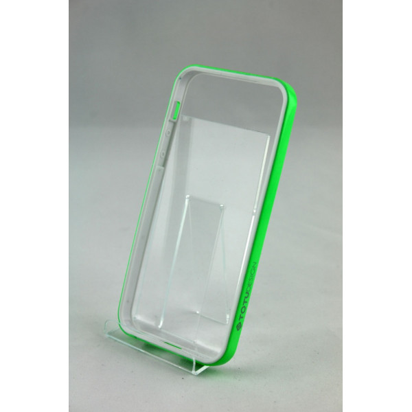 Бампер для iPhone 5/5S SGP Neo Hybrid EX (Зелёный) (Пластик)