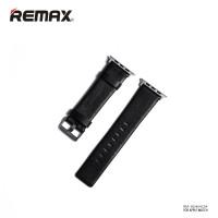 Ремінець для Apple Watch REMAX 42mm (Чорний) (Шкіра)