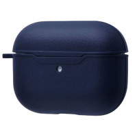 Чехол для AirPods Pro Leather Case (midnight blue)