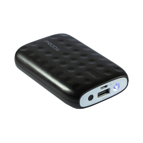 Портативное зарядное устройство Proda Power Box Lovely (10000mAh) (Черный)