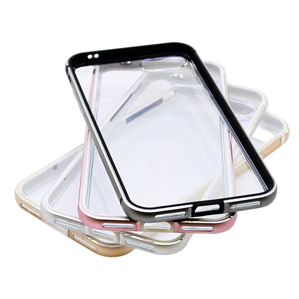 Бампер для iPhone 5/5S/6/6S/6 Plus/6S Plus (Алюминий/пластик)