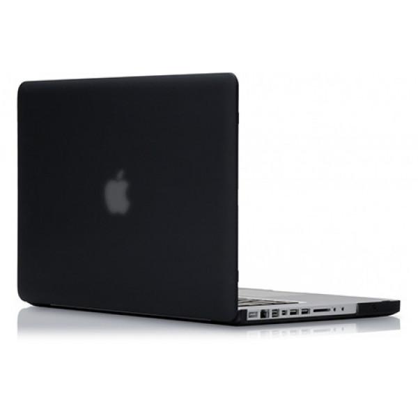 Чехол накладка MacBook Pro 13 mcCase Hard Case (Черный) (Пластик)