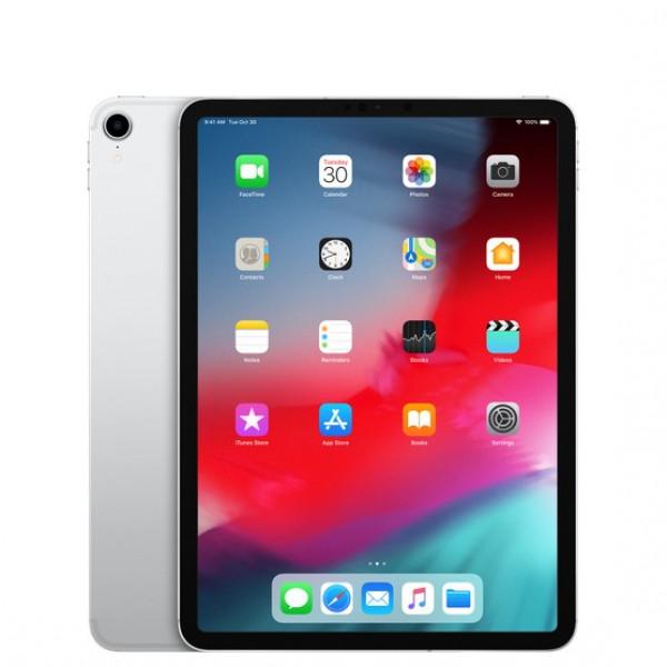 Apple iPad Pro 11 2018 Wi-Fi + Cellular 64GB Silver (MU0U2, MU0Y2)