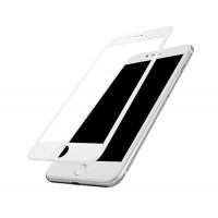 Защитое стекло Baseus  3D Arc for iPhone 7 white(A3D02)
