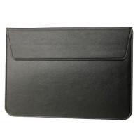 Чехол-конверт MacBook 15 PU seleeve bag (black)
