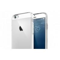 Чехол Накладка для iPhone 6/6S Plus FSHANG Rosy  (голубой) (Силикон)