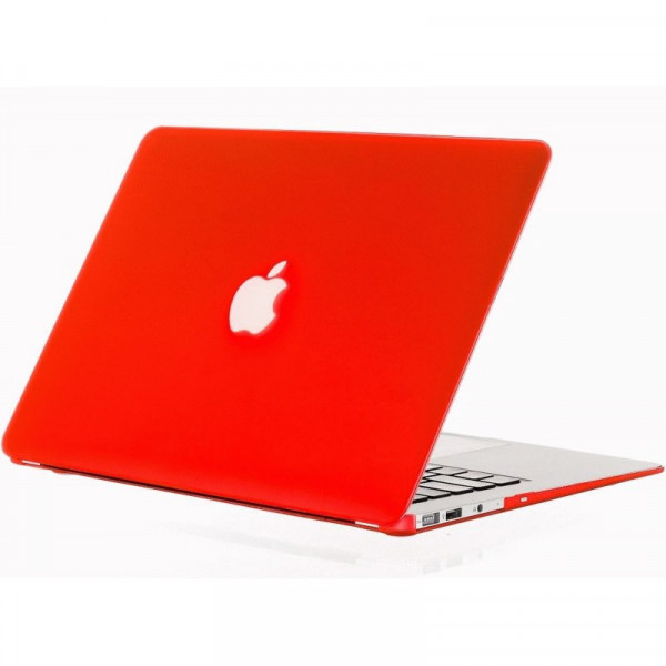 Чехол накладка MacBook Air 13 Slim Case (Красный) (Матовый)