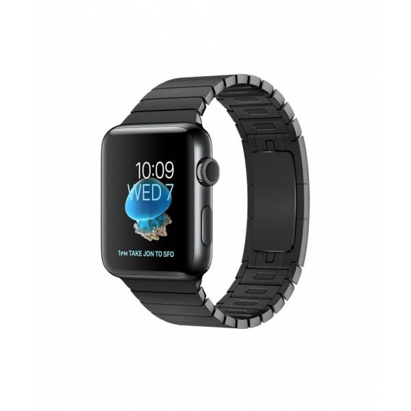 Apple Watch Series 2 38mm Space Black Stainless Steel Case with Space Black Link Bracelet (MNPD2)